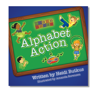 Heidi Songs: Alphabet Action Picture Book