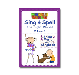 Heidi Songs: Sing & Spell Vol. 1 - Vocal Sheet Music & Songbook