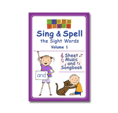 Sing & Spell Vol. 1 - Vocal Sheet Music & Songbook