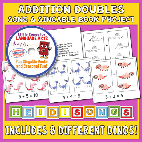 Heidi Songs: Addition Doubles Song & Singable Book Project
