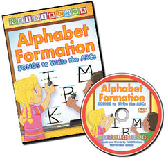 Alphabet Formation Songs - Animated DVD