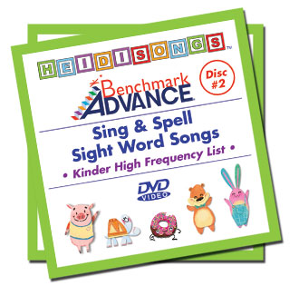 Heidi Songs: Benchmark Kindergarten Sight Word Song Collection