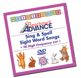Heidi Songs: Benchmark TK Sight Word Song Collection