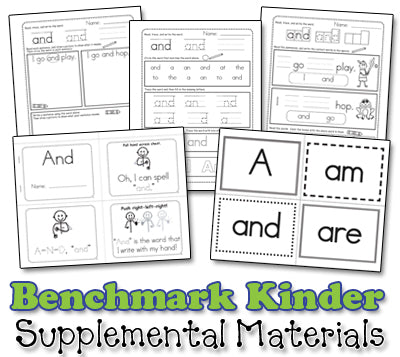 Benchmark Kindergarten - Sight Word Collection - Video