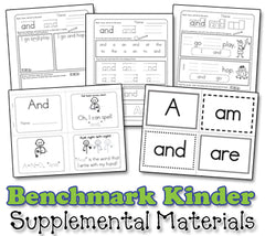 Benchmark Kindergarten Sight Word Song Collection