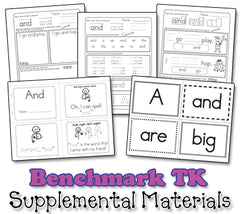 Benchmark TK Sight Word Song Collection