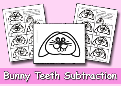Bunny Teeth Subtraction