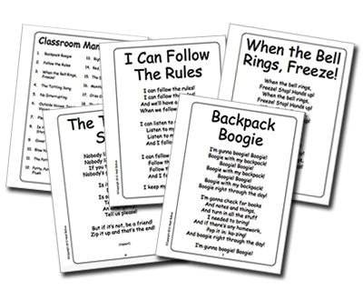 Classroom Management Songbook