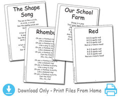 Colors and Shapes Songbook