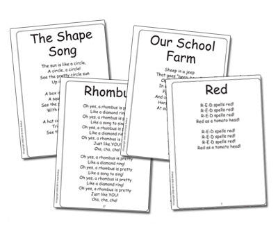 Colors and Shapes Songbook - HeidiSongs