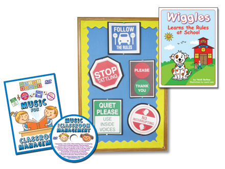 Music for Classroom Management DVD Basic Set
