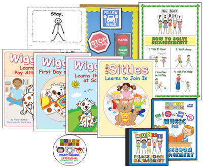 Heidi Songs: Classroom Management Classroom Combos