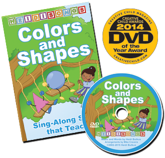 Heidi Songs: Colors and Shapes Animated DVD