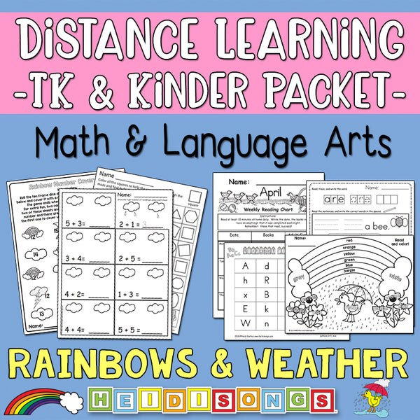 Distance Learning: Rainbows & Weather