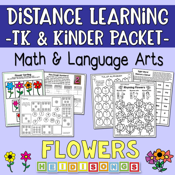 Distance Learning: Flowers