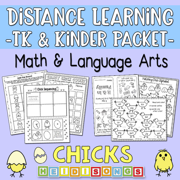 Distance Learning: Chicks