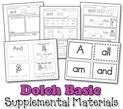 Dolch Sight Word Song Collection - Basic 48 Words