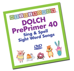 Dolch Sight Word Song Collection - Pre-Primer 40 Words - HeidiSongs