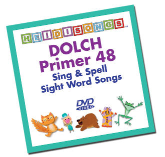 Heidi Songs: Dolch Sight Word Song Collection - Primer 48 Words