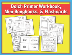 Dolch Sight Word Song Collection - Primer 48 Words