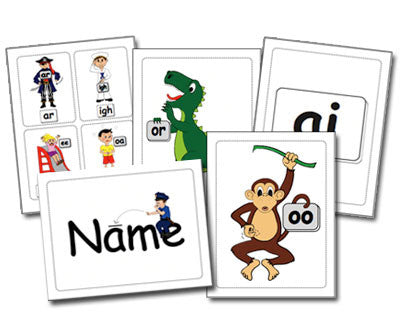 Sounds Fun Phonics Flashcards