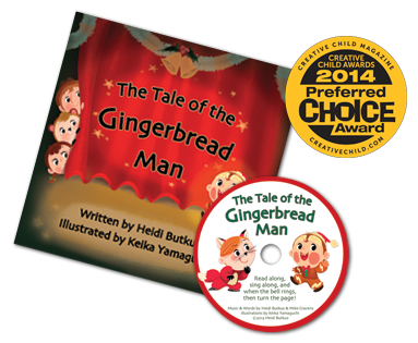 The Tale of the Gingerbread Man - Picture Book & Read-Along CD