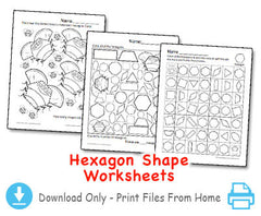 Hexagon - Shape Song projects - Download