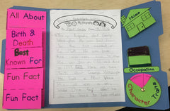 Easy Biography Report Lapbook