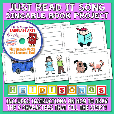 Heidi Songs: Just Read It Song & Singable Book Project