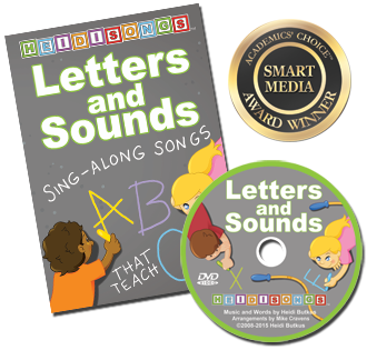 Heidi Songs: Letters and Sounds - Animated DVD