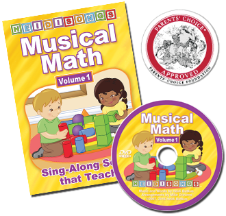 Musical Math Vol. 1 Animated DVD