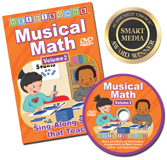 Heidi Songs: Musical Math Vol. 2 Animated DVD