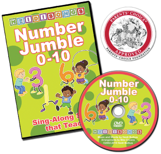 Number Jumble 0-10 - Video