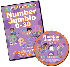 Number Jumble 0-30 DVD