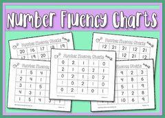 Number Fluency Charts