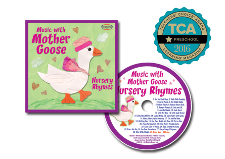 Nursery Rhymes:  Music with Mother Goose CD
