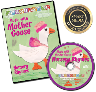 Heidi Songs: Music with Mother Goose Nursery Rhymes DVD