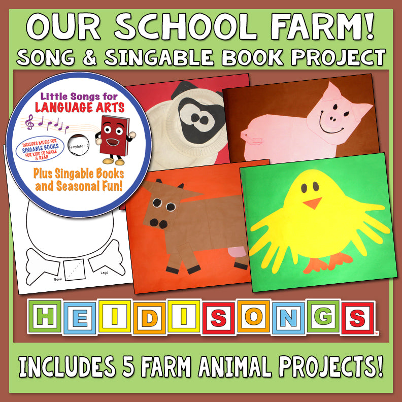 Our School Farm Song & Singable Book Project