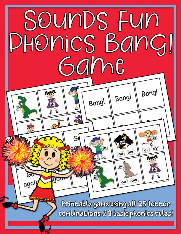 Sounds Fun Phonics Bang! Game