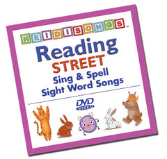 Reading Street Animated Sight Word Song DVD