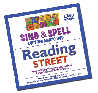 Heidi Songs: Sing and Spell: Reading Street Kindergarten Song Collection