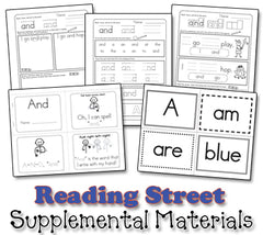 Sing and Spell: Reading Street Kindergarten Song Collection