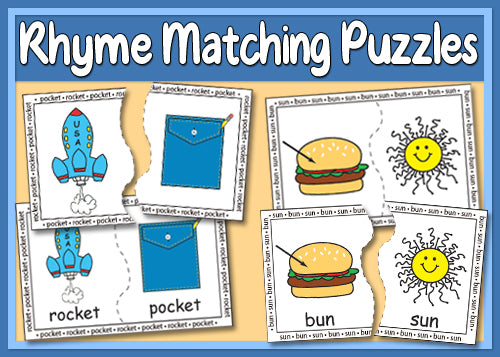 Rhyme Matching Puzzles