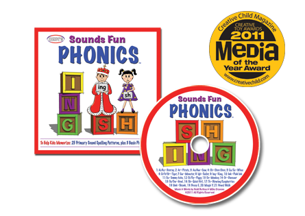 Heidi Songs: Sounds Fun Phonics CD