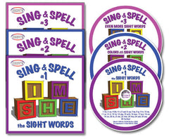 Sing & Spell 1-3 CD Collections