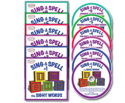 Sing & Spell 1-6 CD Collections