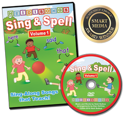 Sing & Spell the Sight Words - Volume 1 -  Animated DVD
