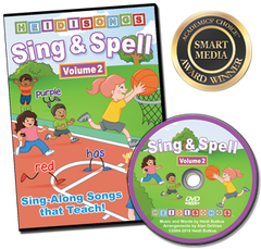 Sing & Spell the Sight Words - Volume 2 - Animated DVD
