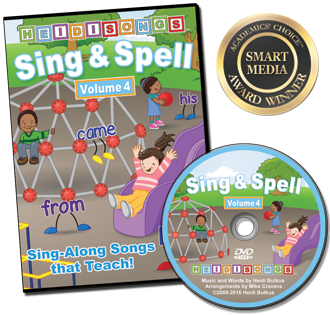 Heidi Songs: Sing & Spell the Sight Words - Volume 4 - Animated DVD