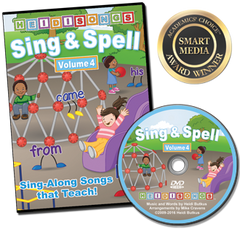 Sing & Spell the Sight Words - Volume 4 - Animated DVD
